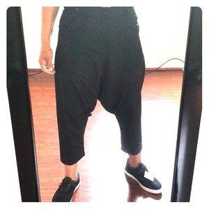 Zara Mens Drop Crotch Trousers 🌺🌺